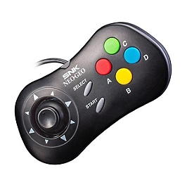 Neo geo gamepad - Black