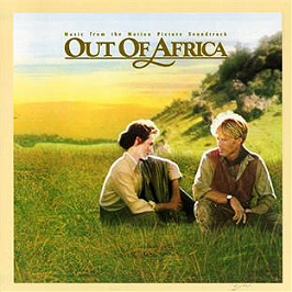 Out of africa (b.o.f.), CD