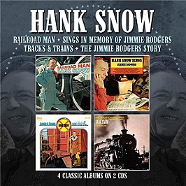 Railroad man - Sings in the memory of Jimmie Rodgers - Tracks & trains - The Jimmie Rodgers story, CD
