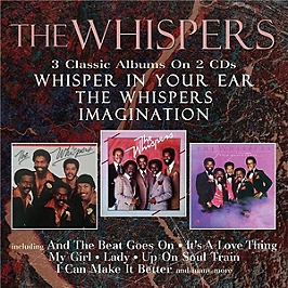 Whisper in your ear / The whispers / Imagination, CD