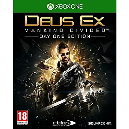Deus ex - mankind divided - édition day one (XBOXONE)