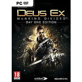 Deus ex - mankind divided - édition day one (PC)