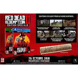 Red dead redemption 2 - Spéciale (PS4)