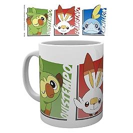 Pokemon mug starters epee bouclier