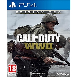 Call of duty : world war II - Edition Pro (PS4)