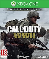 Call of duty : world war II - Edition Pro (XBOXONE) sur Microsoft XBox One
