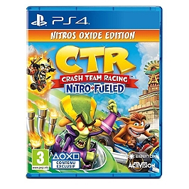 Crash team racing nitro-fueled - édition nitros oxide (PS4)
