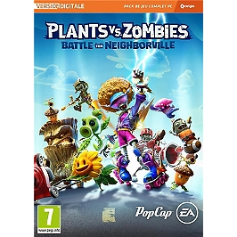 Plant vs. zombies : battle for neighborville (PC)
