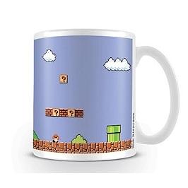 Mug Super mario retro title