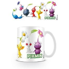 Pikmin mug characters