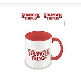 Stranger things mug logo