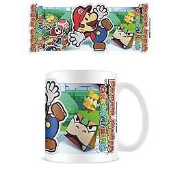 Nintendo Paper Mario scenery cut out