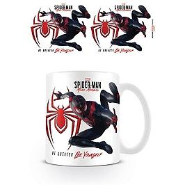 Spider-man miles morales mug iconic jump
