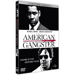 American gangster, Dvd