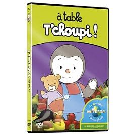 T'choupi et ses amis : À table T'choupi !, Dvd