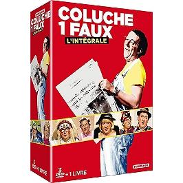 Coffret intégrale Coluche 1 faux, Dvd