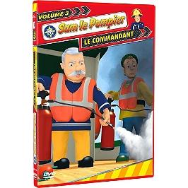 Sam le pompier, vol. 3 : le commandant, Dvd