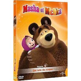 Masha et Michka, vol. 2 : les rois du cirque, Dvd