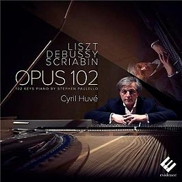 Liszt Debussy Scriabin, CD