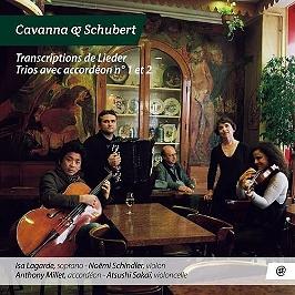 Transcriptions de Lieder - Trios avec accordéon, CD