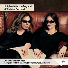 Complete sonatas for obbligato harpsichord and violin, CD