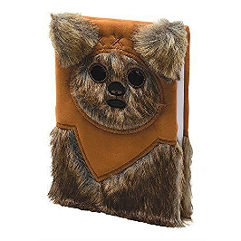 Star wars notebook fourrure ewok