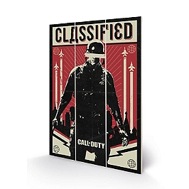 Call of Duty wood art black ops cold war classified