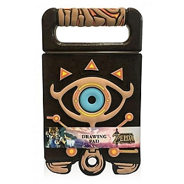 Bloc-note Zelda drawing pad support