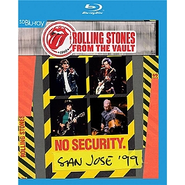 From the vaults : no security - San José 1999, Blu-ray Musical