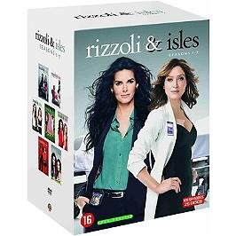 Coffret Rizzoli & Isles, saisons 1 à 7, 105 épisodes, Dvd