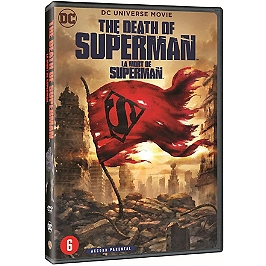 The death of Superman, Dvd