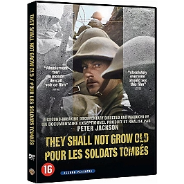 They shall not grow old - pour les soldats tombés, Dvd