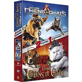 Coffret comme chiens et chats : comme chiens et chats ; comme chiens et chats 2 : la revanche de Kitty Galore, Dvd