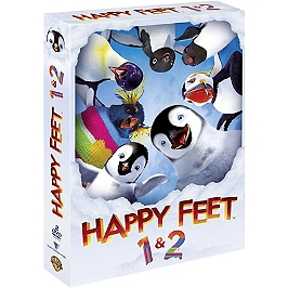 Coffret happy feet : happy feet 1 et 2, Dvd