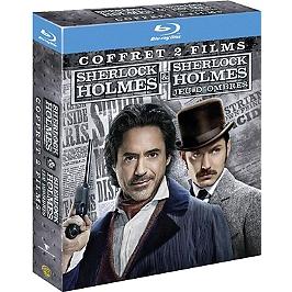 Coffret Sherlock Holmes 2 films : Sherlock Holmes ; jeu d'ombres, Blu-ray