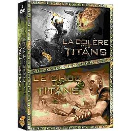 Coffret le choc des titans : la colère des titans, Dvd