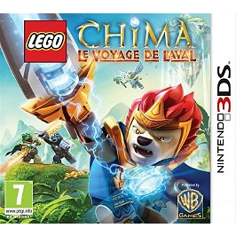 Lego legends of Chima : le voyage de Laval (3DS)