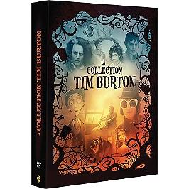 Coffret Tim Burton 4 films, Dvd