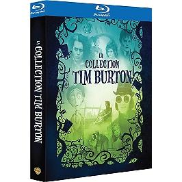 Coffret Tim Burton 4 films, Blu-ray