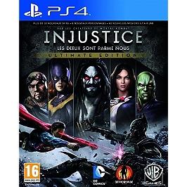 Injustice: les dieux sont parmi nous - édition jeu de l'année (PS4)