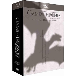 Coffret game of thrones, saison 3, Blu-ray