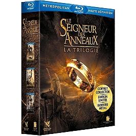 Coffret trilogie le seigneur des anneaux : la communauté de l'anneau ; les deux tours ; le retour du roi, Blu-ray