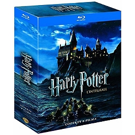Coffret intégrale Harry Potter 8 films, Blu-ray