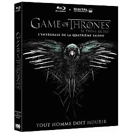 Coffret game of thrones, saison 4, Blu-ray