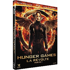 Hunger games 3 : la révolte, vol. 1, Blu-ray