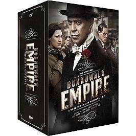 Coffret Boardwalk empire, saisons 1 à 5, Dvd