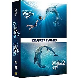 Coffret l'incroyable histoire de Winter le dauphin, 1 et 2, Dvd
