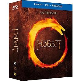 Coffret trilogie le Hobbit : un voyage inattendu ; la désolation de Smaug ; la bataille des cinq armées, Blu-ray