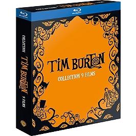 Coffret Tim Burton 9 films, Blu-ray