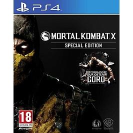 Mortal kombat X - édition spéciale (PS4)